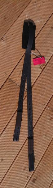 Freeform Steigbügelriemen schmal - braun