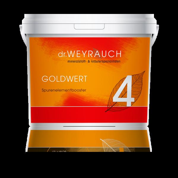 Dr. Weyrauch - Nr. 4 Goldwert - Spurenelementbooster