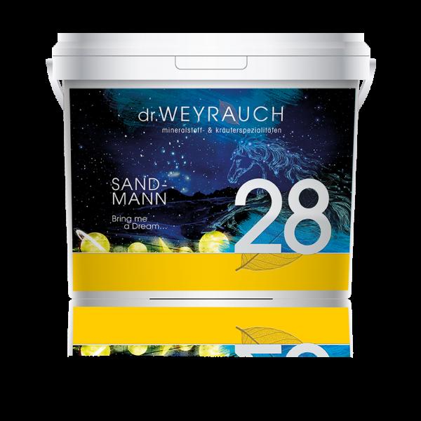Dr. Weyrauch - Nr. 28 Sandmann - stressausgleichendes Ergänzungsfutter