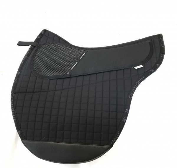 Grandeur Pad - Sattelform Freeform XSB - Schwarz