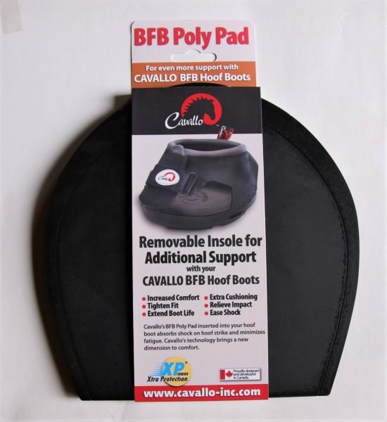 Cavallo Einlegesohlen für Big Foot Boots - Poly Pad