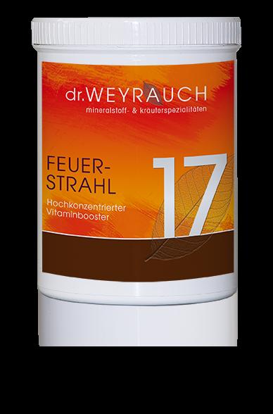 Dr. Weyrauch - Nr. 17 Feuerstrahl - hochkonzentrierter Vitaminbooster