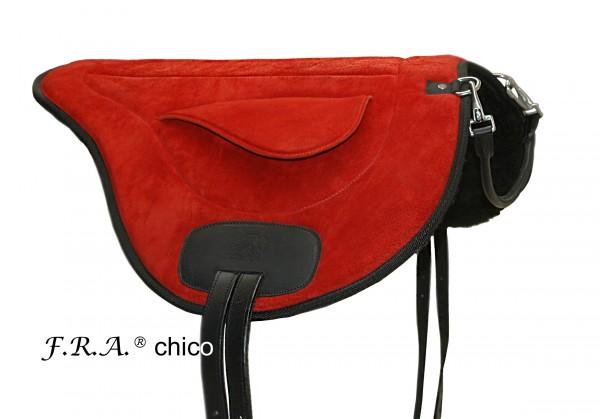 Bareback Pad - Chico - Vorführpad - Rot