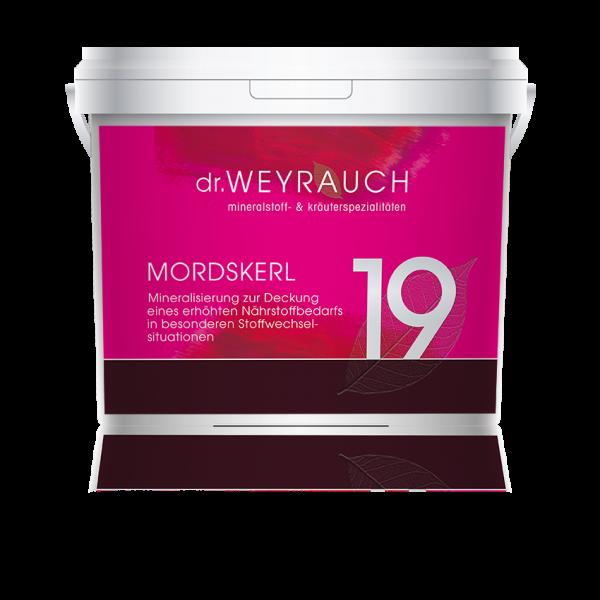 Dr. Weyrauch - Nr. 19 Mordskerl - mineralisierender Stoffwechselaktivator